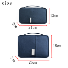 Passport Covers Holder Card Pack Credit Card Holder Wallet Travel accessories Document Passport bags cardholder Travel Organizer cheap NYLON Solid 18cm 25cm 220g RHXFXTL Passport package 2 styles