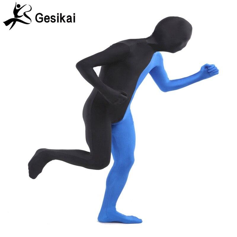 Տղամարդկանց մեծահասակ Full Zentai Bodysuit - Կարնավալային հագուստները - Լուսանկար 4