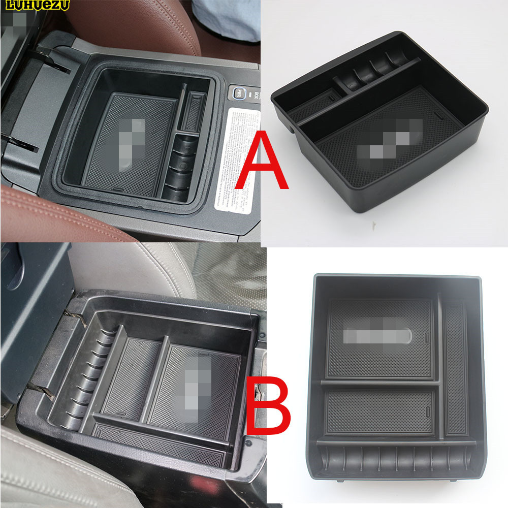Non-Slip Central Armrest Container Stowing Box Refrigerator Cover Mat For Toyota Land Cruiser Prado FJ 120 2003-2009 Accessories