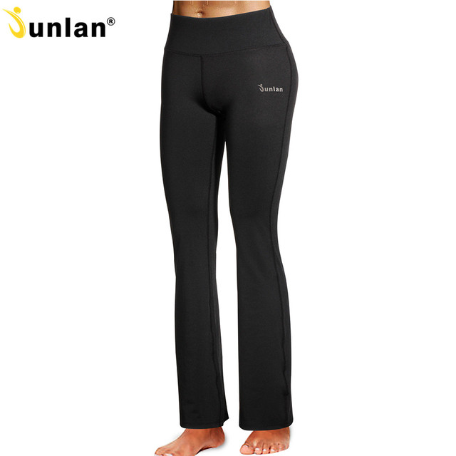 05dbe03442f34c Junlan Women Workout Leggings Fitness High Waist Elastic Legging Slim  Sweatpants Casual Trousers Girl's Activewear Tummy Control