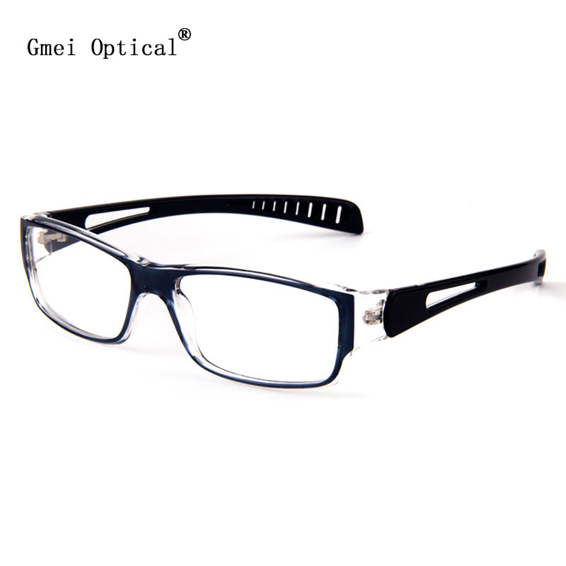 28d97c075d New Stylish High Quality Futuristic Lightweight Plastic Full-Rim Sleek  Rectangular Style Eyeglasses Frames For Men And Women