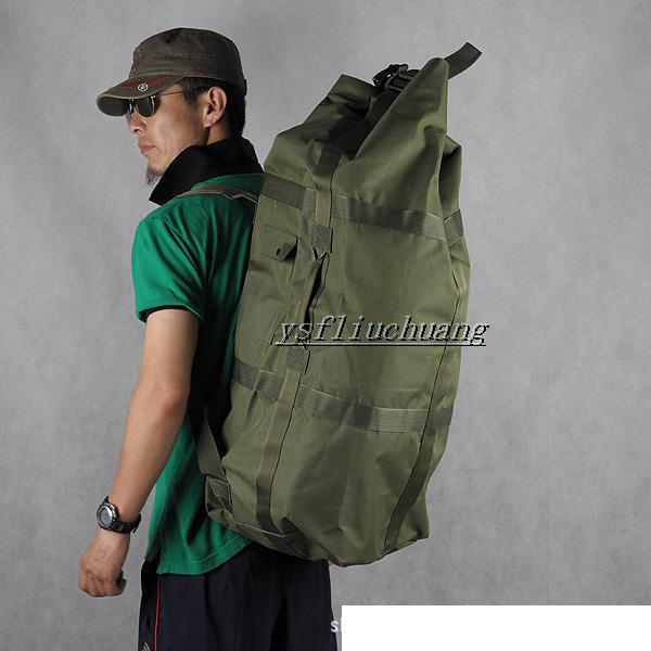 90L Mountaineering Bag Outdoor Backpack  Multi-functional Men And Women Waterproof Large-capacity Tactical Rucksack A4324~x