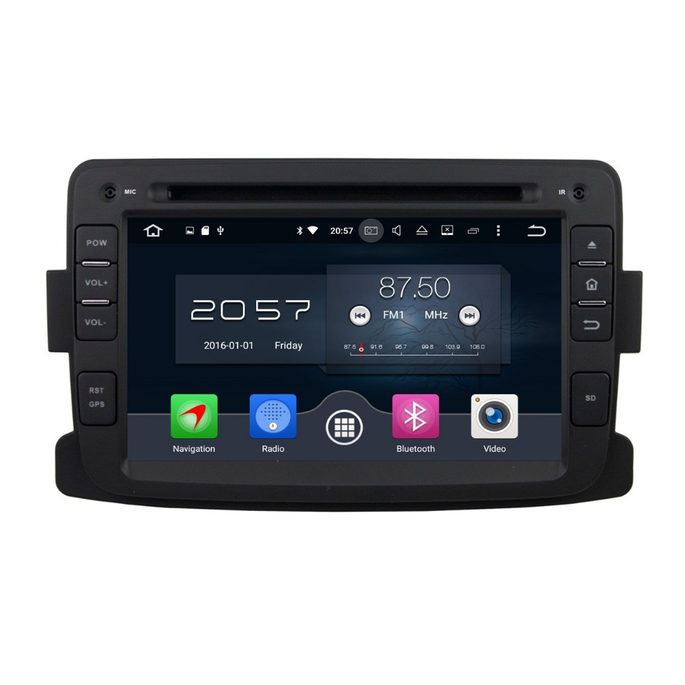 2GB RAM 7 Octa Core Android 6 0 Car DVD Player for Renault Duster Logan Sandero