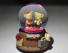 free shipping Sky City Alice crystal ball music box