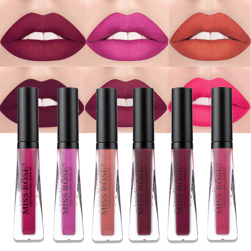 Aliexpress.com : Buy Miss Rose Professional Matte Lips