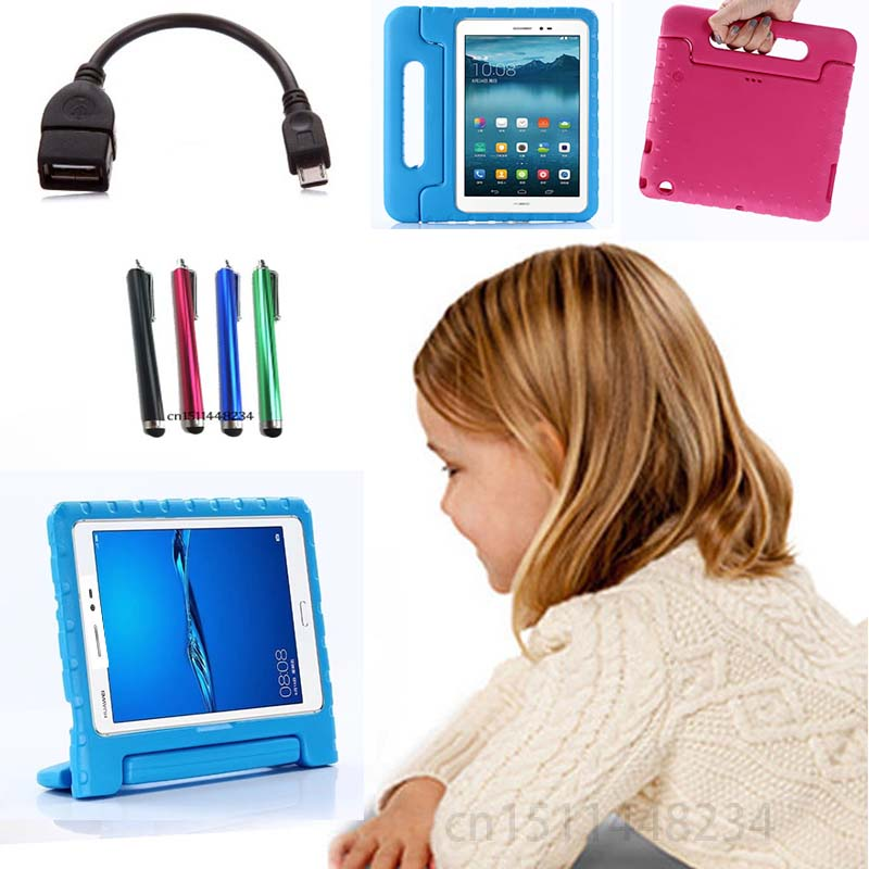 AORUIIKA For Huawei MediaPad T3 10 AGS-L09 AGS-L03 AGS-W09 child baby Tablet shockproof cover, handle stand EVA silicone case audio technica ath ckr70is проводные наушники hifi с ушной раковиной blue