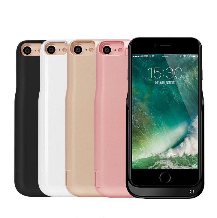 New Power bank Case 7000mAh External Backup Battery Case For Iphone 6 6s 7 Portable Power
