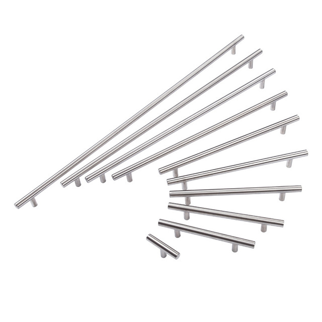 Stainless steel furniture handle cabinet knobs and handles cabinet drawer knobs furniture hardware accessories