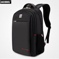 Jacodel Casual Brand Laptop Bag 17 Inch Computer Backpack For Lenovo Asus Dell HP Computer Laptop