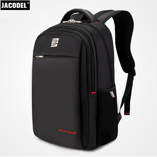 Jacodel Casual Brand Laptop Bag 17 Inch Computer Backpack