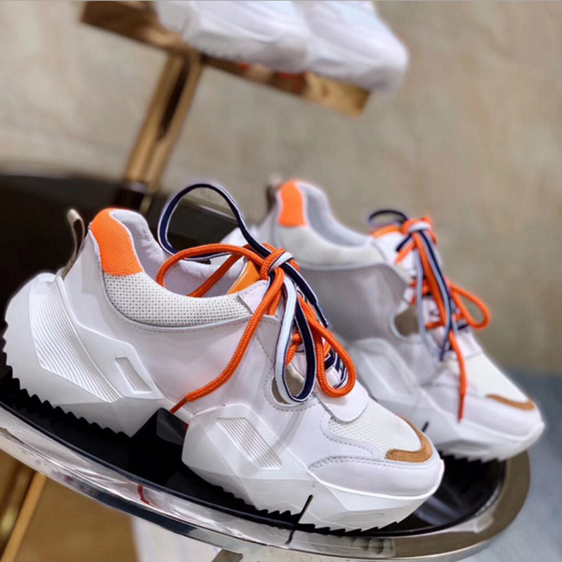 Brand luxury shoes Casual women sneakers spring summer the new hot sale mesh platform Ladies 39 white shoes Comfortable breathable in Women 39 s Pumps from Shoes