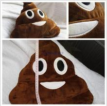 Wholesale Pillow Cushion Cute Emoji font b Funny b font Poo Shit Shape Pillow Stuff Doll