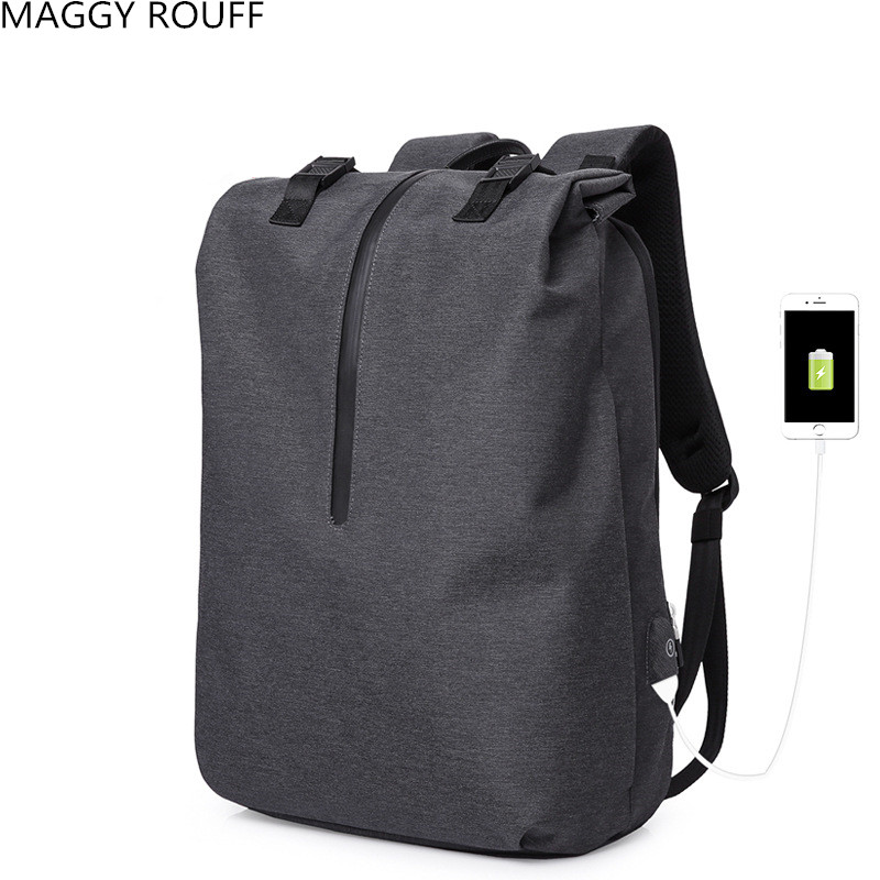 Fashion Simple And Large Capacity Computer Bag USB Anti-Theft Backpack Travel Business Backpack School Backpack Student School kingsons large capacity backpack anti theft backpacks shoulder bags men s laptop backpack travel bag student school bag