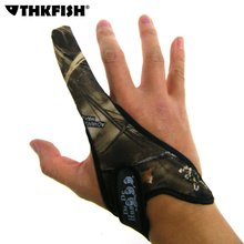 THKFISH 1 Pcs One Finger Anti-slip Fishing Gloves Fly Protector Hunting Tactical Anti-cutting Waterproof Single-finger Gloves