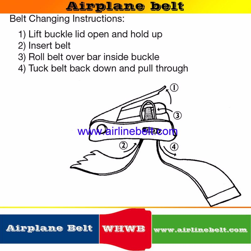 Airplane belt-whwbltd-22