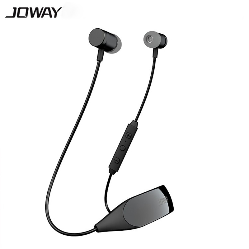 2017 Origianl Joway H09 Bluetooth Headphones Wireless Sports Earphone Stereo Music Headset with Mic for iPhone Android Phone new k6 bluetooth headset earphone voice command auto answers for iphone android busiess bluetooth headphones with storage box