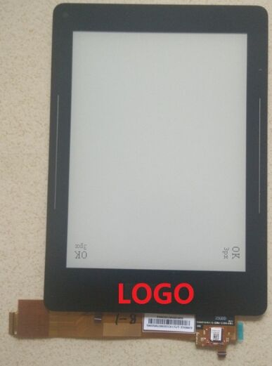 6inch For ED060XC8(LF)C1 R3 touch panel Digitizer With lcd display matrix With light ED060XC8 MONTANA Reader