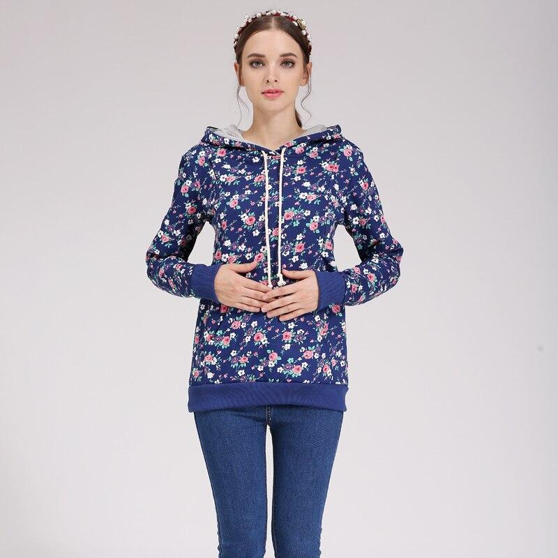 Emotion Moms 100% bomull Vinter Maternity Kläder omvårdnad T-shirt - Graviditet och moderskap - Foto 4