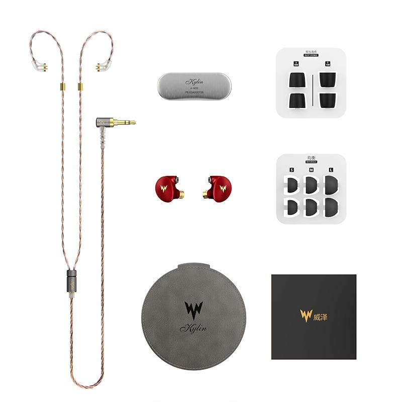 Image 5 - kulaklık A HE03 HiFi Bass Earphones Hi Res Headsets Hybrid Armature 2Pin Connector 3.5mm In Ear Monitors HiFi Earbuds  kulaklı-in Earphones from Consumer Electronics