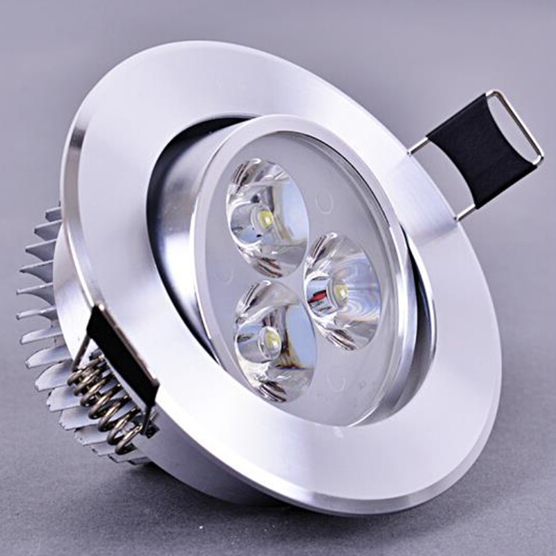 3w 5w 7w Led Ceiling Lamp Recessed Led Downlight Dimmable