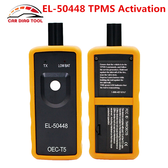 2018 Best EL-50448 TPMS EL 50448 Auto Tire Pressure Monitor Sensor EL50448 OEC-T5 Automotive TPMS Activation Tool For SPX G.M