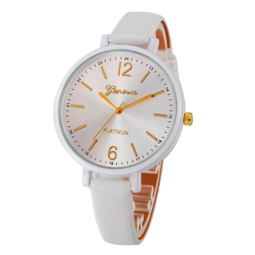 2017Newly Designed Fashion Women Casual Checkers Faux Leather Quartz Analog Wrist Watch Gift relogio feminino LEVERT DROPSHIP722 2017 newly designed fashion classical watches leather stainless men women steel analog quartz wrist watch gift dropshipping l524