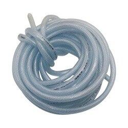 10 m/20 m PVC 8/12mm Mangueira Trançada Reforçada Gardend Fibra De Tubulação de Abastecimento de Água de Irrigação Flexível tubo de Protecção do ambiente