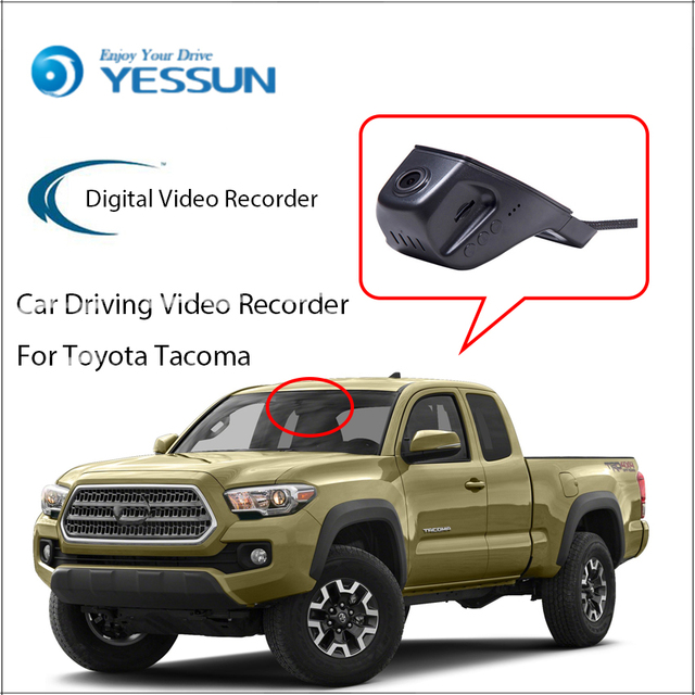 Yessun Not Reverse Parking Camera Car Dvr Digital Video Recorder For Toyota Tacoma Front Camera
