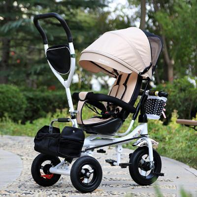 Triciclo para niños vehículos Childs con push-push bicicletas plegables bebé niño bicicletas