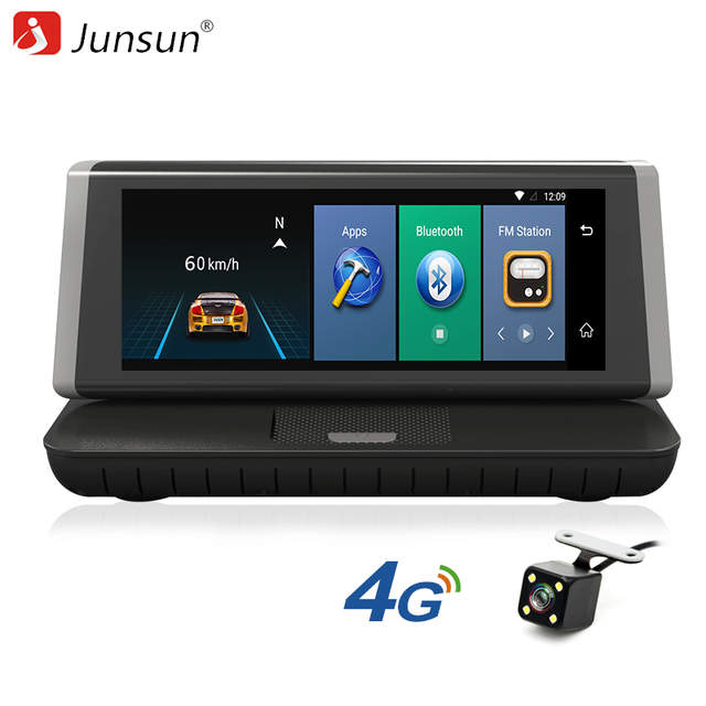Junsun E35 Car GPS Navigation Android 5.1 ADAS 4G Bluetooth DVR Rear View Camera FM 8 inch Capactive Screen 2017 Europe Map