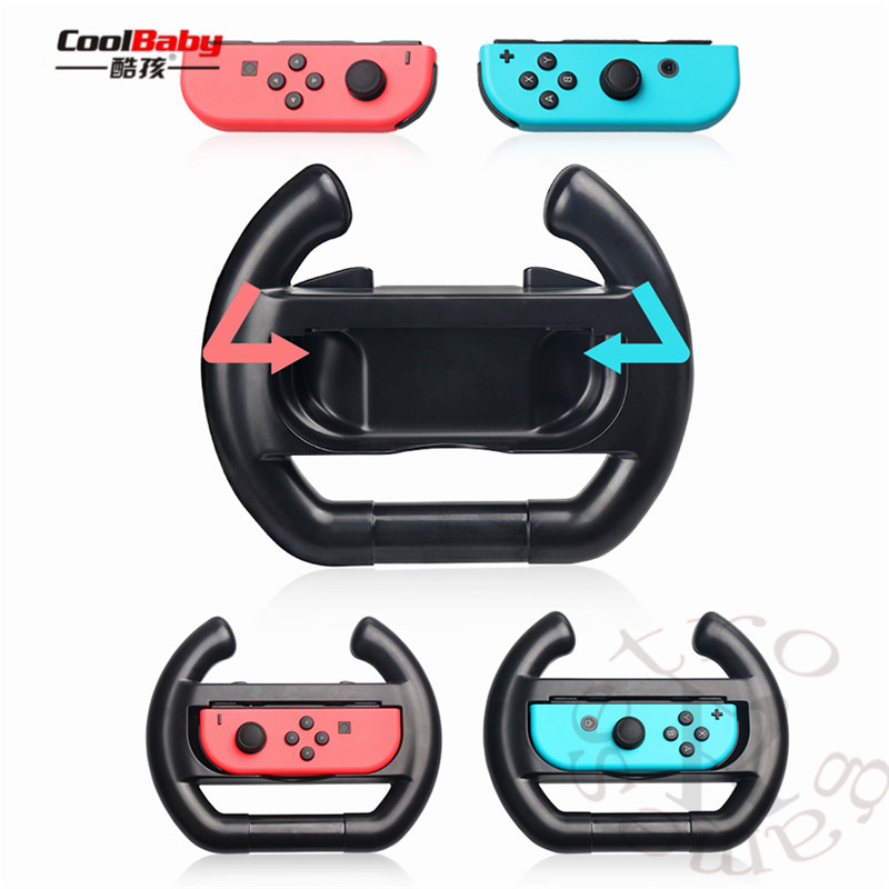 for nintend Switch Joy-Con Small Handle Steering Wheel game component video game controller TNS-852 Enhanced feel 3