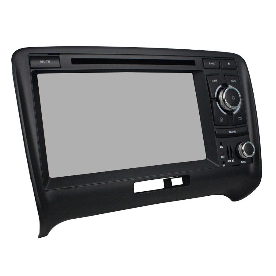 8 Core 64 GB rom Android 9.0 Navirider voiture radio écran tactile GPS Navigation pour Audi TT 2006-2013 bluetooth lecteur vidéo
