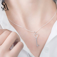 Silver Real Shape Necklaces