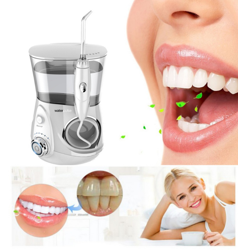 Dental Water Flosser Oral Irrigator Dental Floss Irrigation Clean Massage Tooth Floss Oral Hygiene Teeth Whitening цена в Москве и Питере