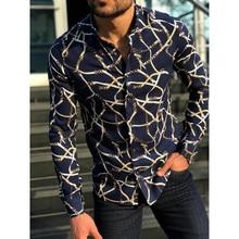 Shirts Men Male Clothing Formal-Dress Slim-Fit Long-Sleeve Men's Camisa Casual