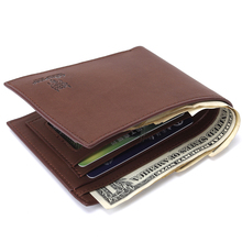 цена на New Wallet  brand Short men Wallets PU Leather male Purse Card Holder Wallet Fashion man r Wallet men Coin bag