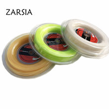 1 Reel ZARSIA soft Nylon tennis string 1.30mm 200M tennis rackets string comfortable tennis strings Elastic 55-60LBS(China)