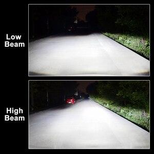 Image 5 - Lâmpadas de farol de carro led, 2 peças, h1, h4, h7, led, h11, h3, hb3/9005, hb4/9006, canbus, sem erro, 10.000lm 6000k mini farol automotivo, 12v 24v