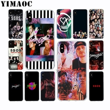 5 Seconds Of Summer 5SOS Soft Silicone Case for Apple Iphone 11 Pro Xr Xs Max X 10 8 Plus 7 6S 6 Plus SE 5S 5 7Plus 8Plus 5 seconds of summer 5sos toronto