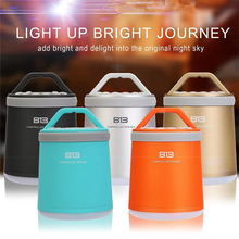 FITZ Multi function B13 wireless portable Bluetooth speaker night light camping outdoor mini-audio subwoofer hands-free FM radio