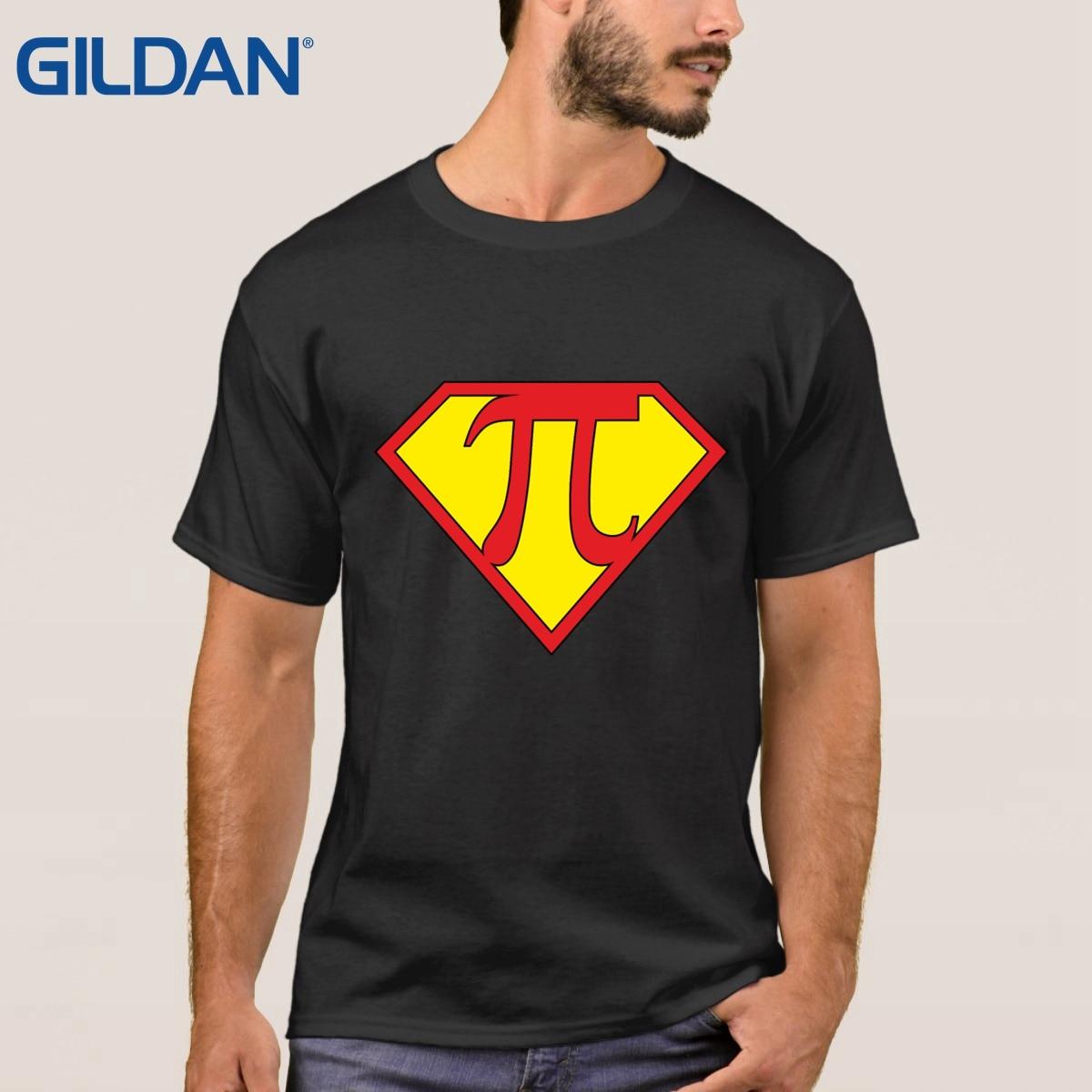 t shirt Regular Pi Day Superhero for Math font b Geeks b font multi color Classical
