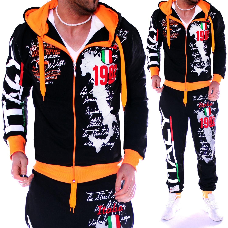 ZOGAA Mens Tracksuit 2 Piece Set Casual Streetwear Workout Jogger Track Suit Hoodies Sweatshirt With Sweatpants Mens Sweatsuits