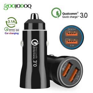 3.0 dual fast usb car charger