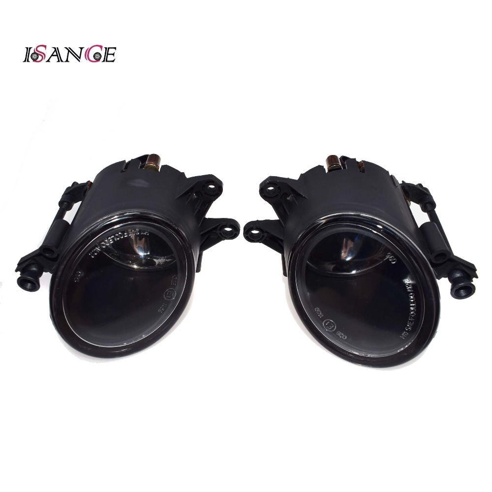 ISANCE Left, Right Front Fog Light Bumper Lamp Cover Trims For Audi A4 B6  2002 2003 2004 2005