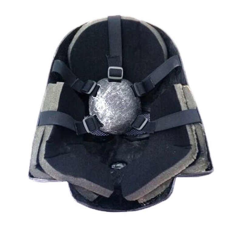 1 Piece Film Star Wars Darth Vader Anakin Skywalker Cosplay Masker Full Face FRP Helm Koleksi Halloween Alat Peraga Partai