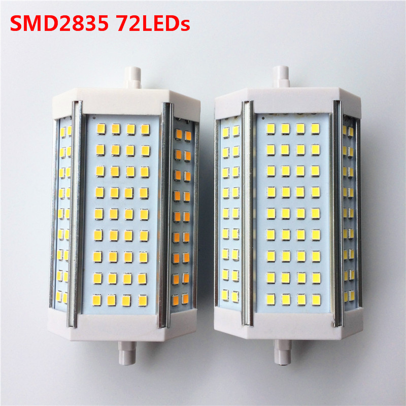 Super bright! R7S SMD2835 SMD5730 AC85V-265V 30W 35W 118mm J118 luminaire bulb Replace Halogen floodlight Lamp LED lights lexing lx r7s 2 5w 410lm 7000k 12 5730 smd white light project lamp beige silver ac 85 265v