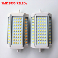 High Power R7S SMD2835 SMD5730 AC85V 265V 30W 35W 118mm J118 Luminaire Bulb Replace Halogen Floodlight