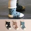 Детские зимние носки детские этаж носки детские мальчика и девочки звезды носки детские Противоскользящие носки 3 пар/лот # 306ssy