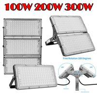 Ультратонкий Светодиодный прожектор 100 Вт 200 Вт 300 Вт IP65 110 В/220 В Светодиодный прожектор Наружное освещение садовая лампа