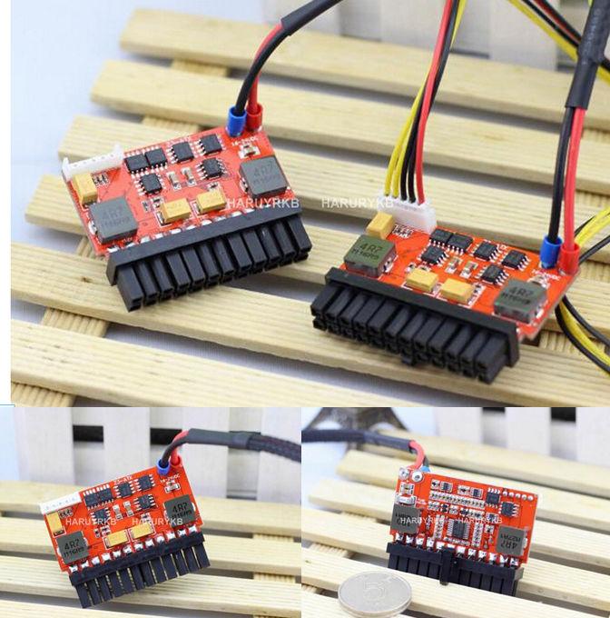 200W DC-ATX Power Supply DC 16V-24V Pico ATX Switch PSU Car Auto 24pin ITX ATX 19V